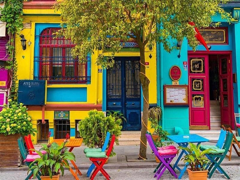 colorful houses istanbul - آشنایی با خانه های رنگی استانبول