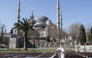 زندگی در ترکیه در دوران شیوع کرونا ویروس