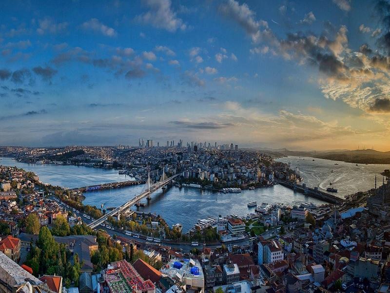 ویدئو: استانبول از فراز آسمان در یک دقیقه